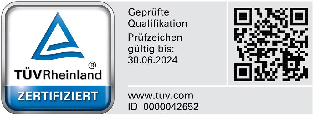 Tuev zertifikat - abek